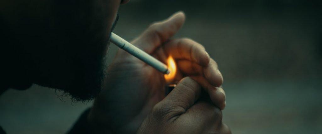 roken slechte gewoonte